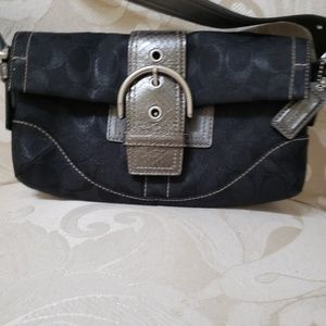 Cute black Coach bag